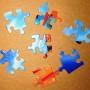Barbie Beach Puzzle Sample Pieces