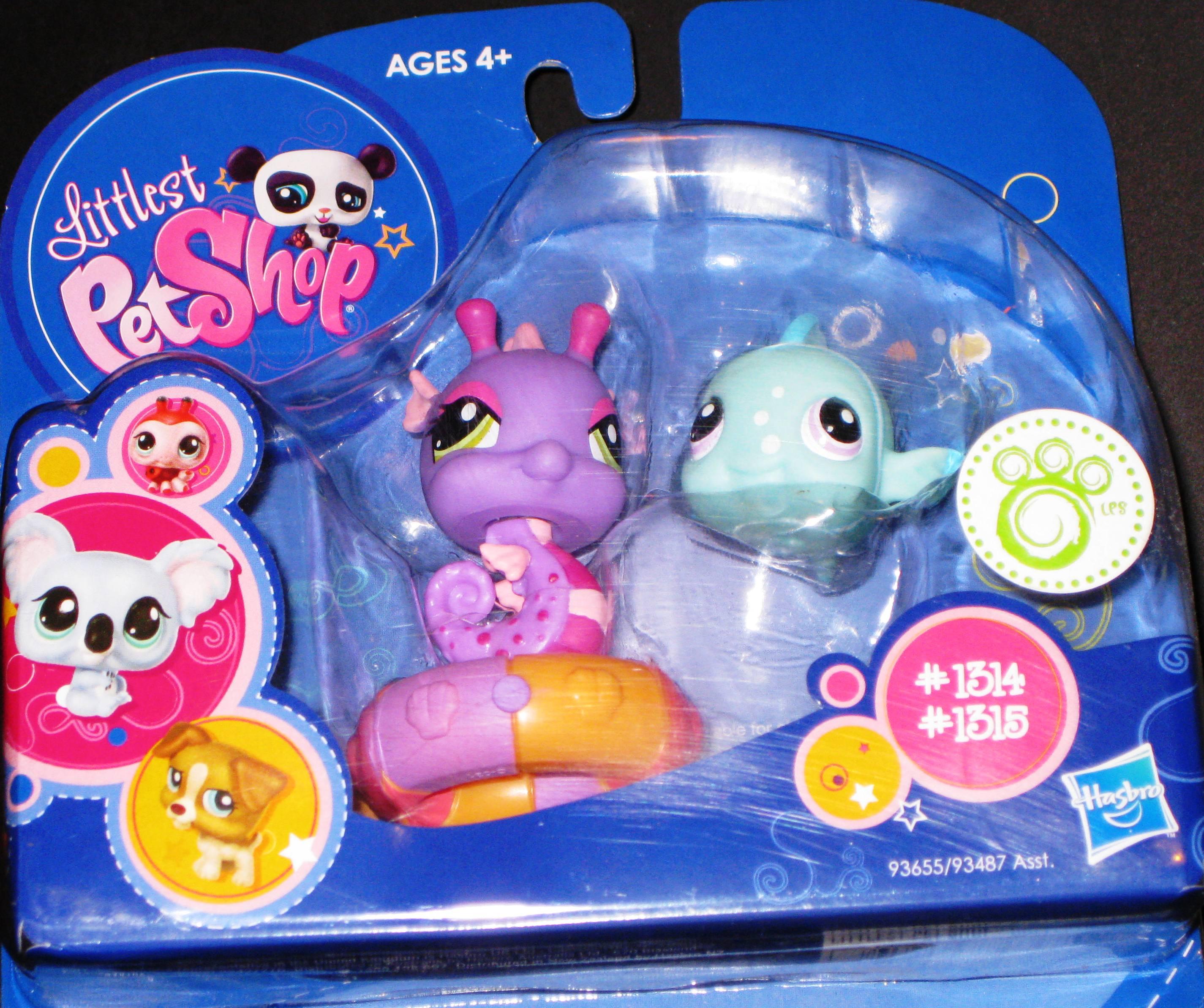Littlest Pet Shop Seahorse Littlest Pet Shop Purple