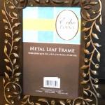 Metal Leaf Frame 4.6 Window