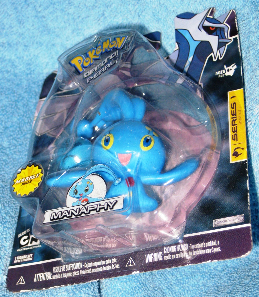 Pokemon Manaphy Series I Figure