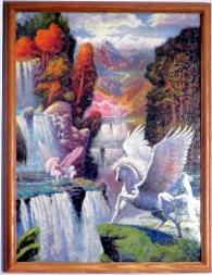 Puzzle - Framed Pegasus - Small