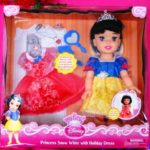 Snow White Holiday Doll Image Front View