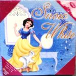 Snow White Decorative Wall Art Canvas