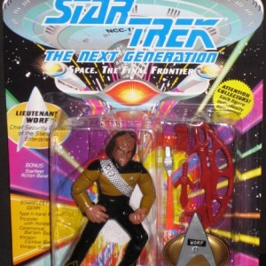 Star Trek Next Generation - Lieutenant Worf - Upper