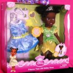 Princess Tiana Holiday Doll Plus Extras