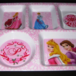 Disney Princesses on Designer Tray