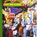 Power Rangers Color Book
