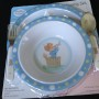 Precious Moments Plate Bowl Fork Spoon