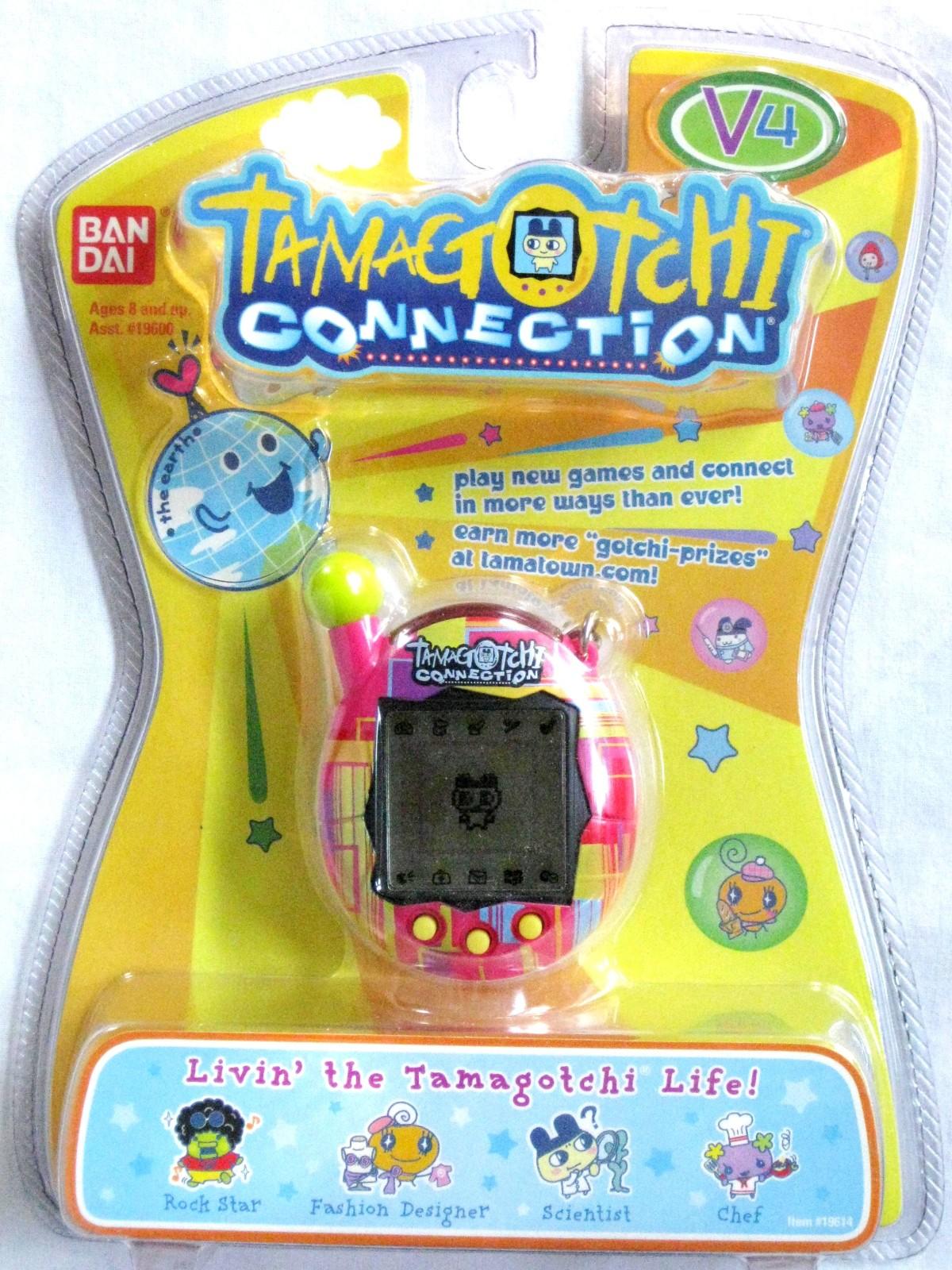 Tamagotchi Connection V4 Pocket Size Virtual Pet Pink