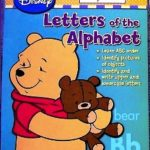Winnie the Pooh Workbook Letters of Alphabet
