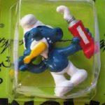 Smurf Brushing Teeth Image I