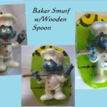 Smurf Image - Baker with Spoon Three Views