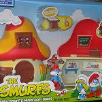 Papa Smurf Workshop Laboratory Mushroom House Plus Figure