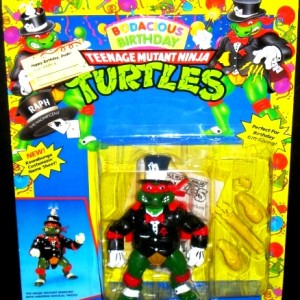 Bodacious Birthday Teenage Mutant Ninja Turtle Action Figure