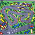 RaceWay Floor Rug for Kids