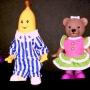 Bananas N Pajamas Lined Up Front View