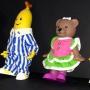 Bananas N Pajamas Lined Up Right View