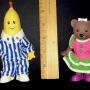 Bananas N Pajamas Lined Up Ruler View