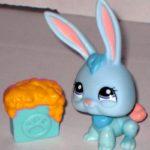 LPS Blue Bunny Rabbit