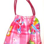 Drawstring Pouch Butterfly Design