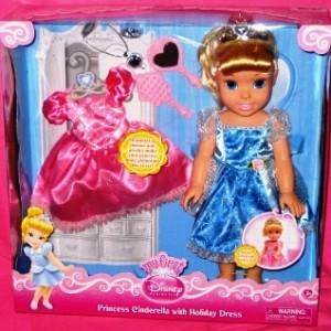 Cinderella Doll Plus Holiday Dress