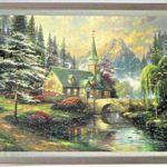Puzzle of Chapel Framed