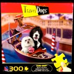 Travel Dogs 300 Piece Dog Puzzle That's 'Amore'