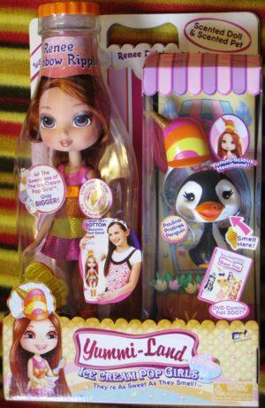 Renee Rainbow Ripple Doll Plus Pet