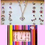 Jewelry Set - Heart Necklace Earrings Image