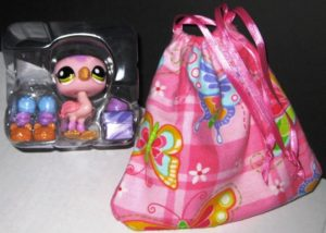 LPS Pet Flamingo Bird #1687