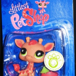 Littlest Pet Shop Geoffrey Giraffe Figure