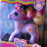 Triple Treat Purple My Little Pony Wearing Crown