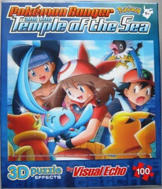 May Holds Manaphy in 3D Puzzle