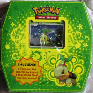 Green Pokemon Card Booster Packs TCG Turtwig