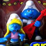 Musical Smurfs Guitar Player Singer
