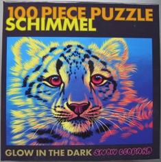 Snow Leopard 100 Puzzle