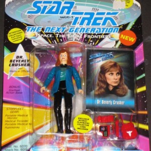 Dr. Beverly Crusher Star Trek Figure