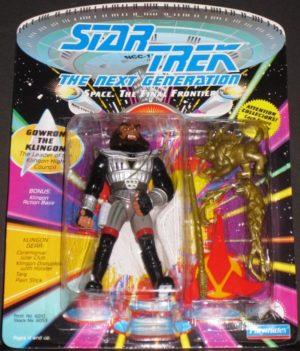Gowron the Klingon Action Figure