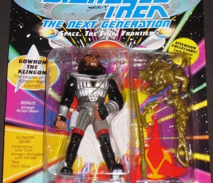 Gowron the Klingon Action Figure