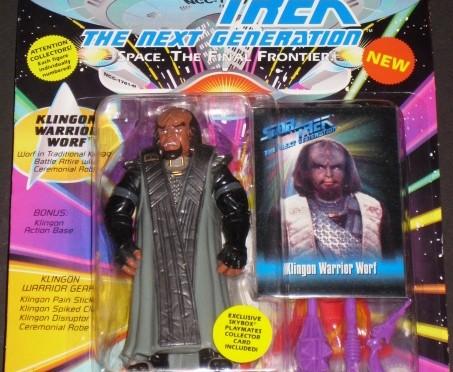 Klingon Warrior Figure