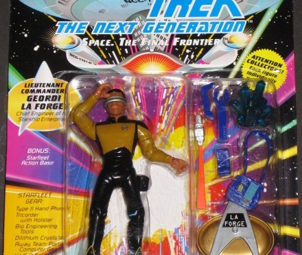 Star Trek the Next Generation Giordi La Forge Action Figure