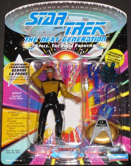 1992 Star Trek The Next Generation Geordi La Forge Action Figure