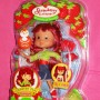Strawberry Shortcake Doll Flip N Clip Green Shirt