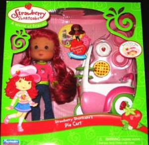 Pie Cart Plus Strawberry Shortcake Doll
