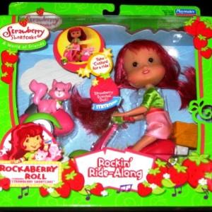 Rockin Ride Along Strawberry Shortcake Scooter