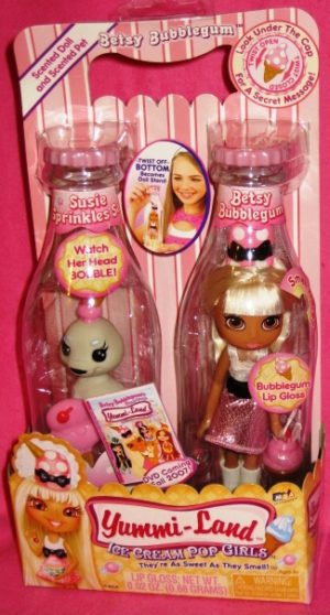 Betsy Bubblegum Ice-Cream Pop Doll