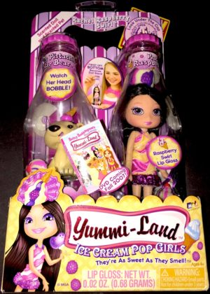 Rachel Raspberry Swirl Doll