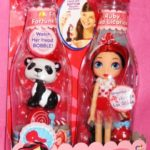 Ruby Red Licorice Doll