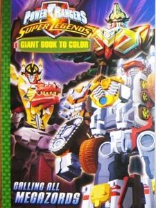 Power Rangers Color Book