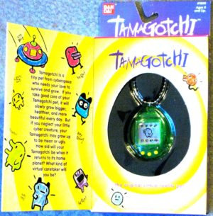 Transparent Tamagotchi Virtual Pet in Box